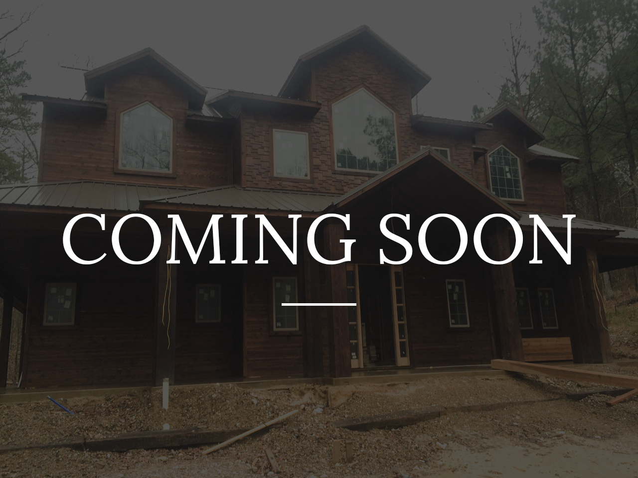 Rustic Lodge-coming soon